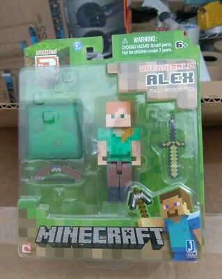 Minecraft Series 3 Overworld Alex Action Figure - Brand new never opened