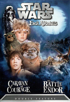 Star Wars Ewok Adventures Caravan of Courage The Battle for Endor REGION 1