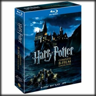 Harry Potter Complete 8-Film Collection BLU-RAY 2011 8-Discs FAST SHIPPING