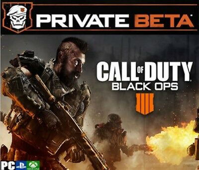 Call Of Duty Black Ops 4 Early Access Code-BETA-Instant Delivery PS4 XBOX ONE PC