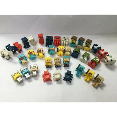 Minecraft Horse Squid Creeper Cow 36 PCS Action Figure Mini Figure Kids Gift Toy