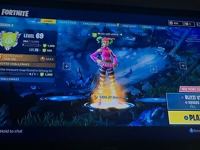 fortnite account ps4 epic only
