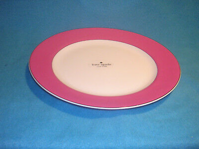 Lenox Kate Spade Rutherford Circle Pink Dinner Plate 11-25 NEW