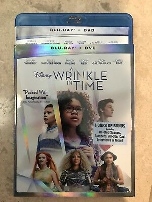 A Wrinkle In Time Blu-ray  New No Digital or DVD