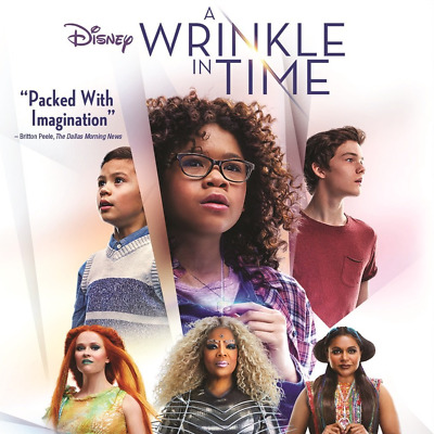 A WRINKLE IN TIME NEW2018DVDRELEASE FAMILYSCI FIMYSTERY FREE SHIPPING