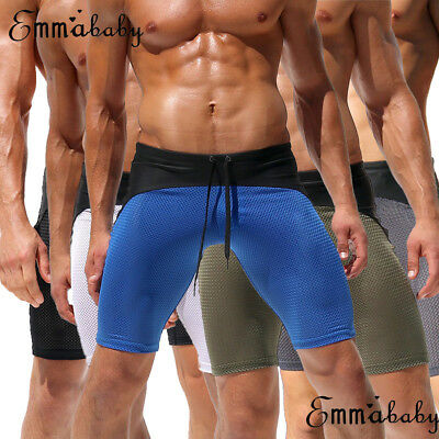 USA Mens Sport Casual Shorts Pants Gym Fitness Bodybuilding Jogging Running Pant