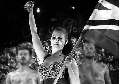 Eurovision 2018 Lisbon Saara Alto Finland 10 x 8 exclusive print Dancing on Ice