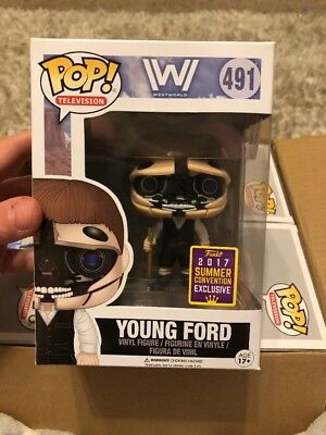 Funko Pop Westworld Young Ford 2017 SDCC Exclusive Figure 491