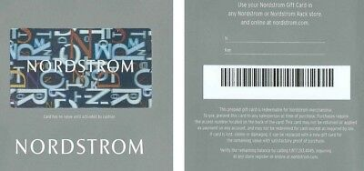 500 Nordstrom Gift Card - FREE SHIPPING