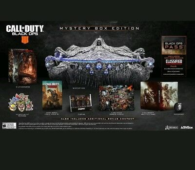 Call Of Duty Black Ops 4 - Mystery Collectors Box Edition - Xbox One Pre-Order