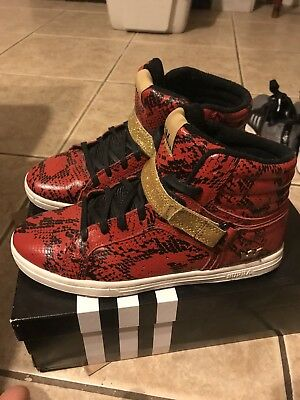 Supra Redgold Snakeskin Shoes