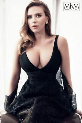 SCARLETT JOHANSSON POSTER Pop Celebrity Star Room Art Wall Print 2x3 Feet A