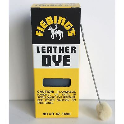 Fiebings Leather Dye W Applicator For Shoes Boots Bags Couches All Colors