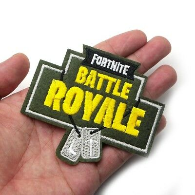 Fortnite Battle Royale Iron-On Patch Playstation Xbox Nintendo Game US Seller