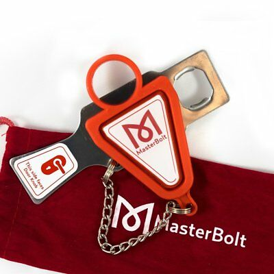MasterBolt Portable Travel Door Lock Security