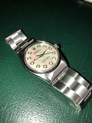 rolex 6420 pearl diamond dial 30mm mint No reserve