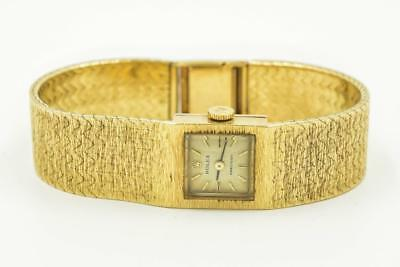 Ladies Rolex 18K Yellow Precision Ref 362J Wristwatch Circa 1960s