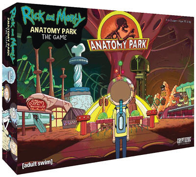 Rick and Morty Anatomy Park Board Game - Cryptozoic Entertainment adult swim
