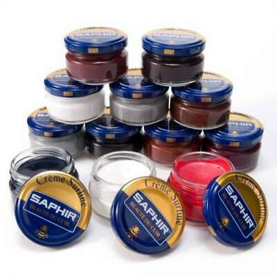Saphir Shoe Cream 50ml- Jar Imported From France All Colors