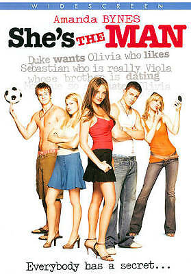 Shes the Man - Amanda Bynes Channing Tatum - New