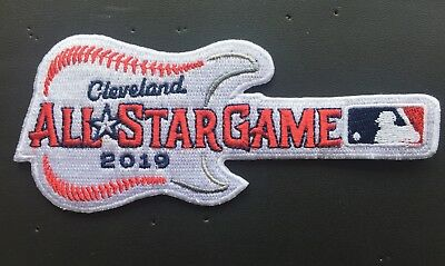 2019 ALL STAR GAME PATCH MLB BASEBALL CLEVELAND GUITAR STYLE IRON OR SEW ON