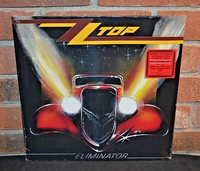 ZZ TOP - Eliminator Limited Import RED COLORED VINYL LP New - Sealed