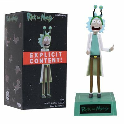 Rick and Morty Rick Sanchez Peace Among Worlds Figure New Loot Crate Exclusive