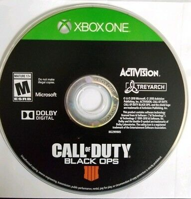 Call of Duty Black Ops 4 Xbox One Disc Only