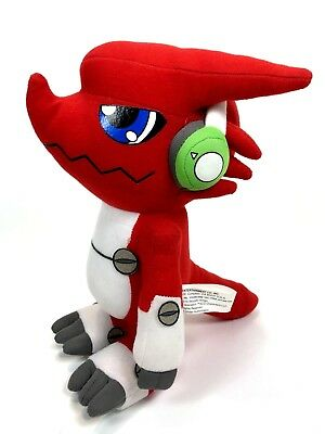 Great Eastern Digimon Fusion Digital Monster 9 Shoutmon Cosplay Doll Toy Plush