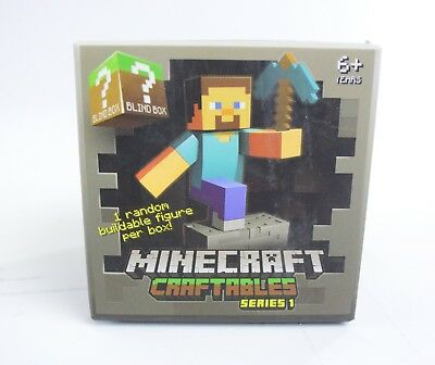 Minecraft Craftables Blind Box Series 1 New Sealed 6-
