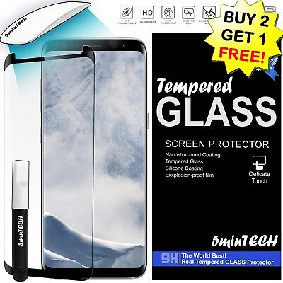 ✔ Tempered Glass Screen Protector HD Premium FOR SAMSUNG GALAXY S10S9S8 - Plus