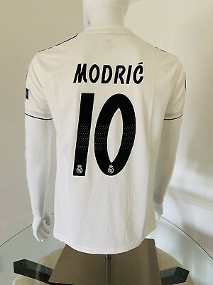 Luka Modric Jersey Real Madrid Home Small