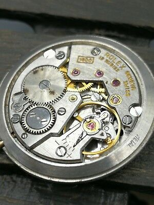 Movement mecanism and dial ROLEX CELLINI CAL 1600 hand wind