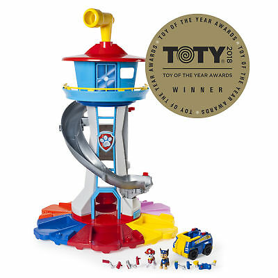 Paw Patrol My Size Lookout Tower with Exclusive Vehicle Rotating Periscope