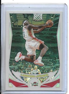 LeBron James 2004-05 Topps Chrome REFRACTOR 23 - 2ND YEAR