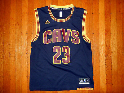 ADIDAS NBA CLEVELAND CAVALIERS BASKETBALL JERSEY 23 LEBRON JAMES MENS M