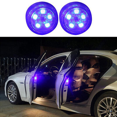 2 Car Door Opened Warning Lamp Flashing Signal LED Light Anti-collision  Strobe c69af23087b6