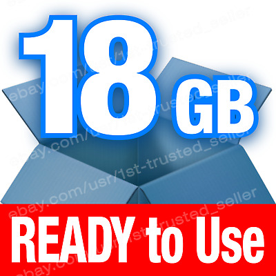 Dropbox Cloud Storage 18 GB BRAND NEW account - PERMANENT and Lifetime