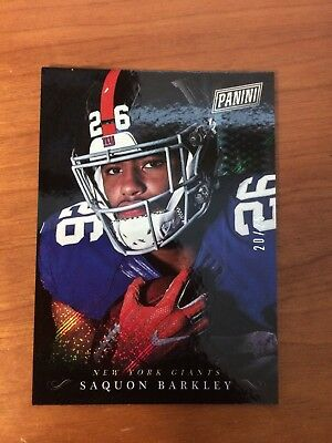 Saquon Barkley 2018 Panini Black Friday 25 Giants SB