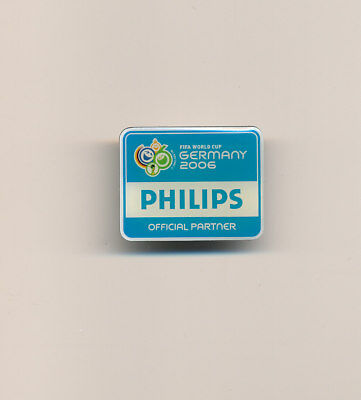 Philips Germany 2006 World Cup Soccer Football Sponsor Pin