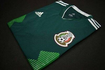AUTHENTIC ADIDAS MEXICO HOME Jersey Soccer 2018 WORLD CUP RUSSIA Climachill XL
