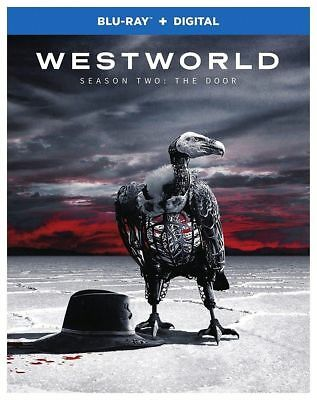 Westworld Season Two The Door wSlipcover Blu-ray Digital Digipack New