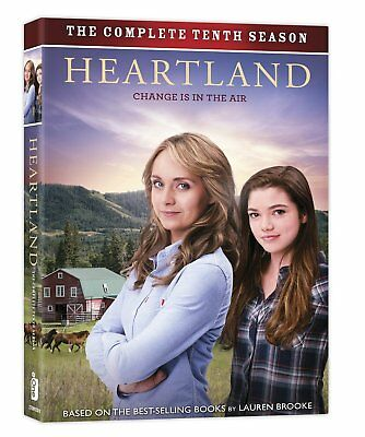 Heartland Season 10 Tenth Season DVD 2017 5-Disc Set NEW Ships 1st Class