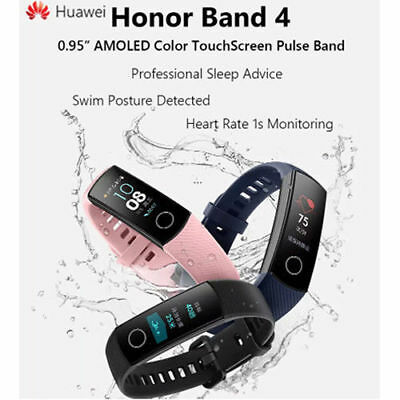 Brand New Huawei Honor Band 4 Wristband AMOLED Color Heartrate 0-95 Touchscreen