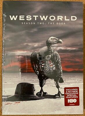 NEW WESTWORLD SEASON 2 THE DOOR DVD - SLIPBOX FREE WORLD WIDE SHIPPING BUY ITNOW
