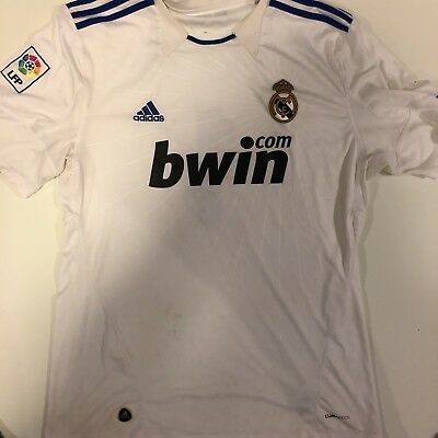 Real Madrid White Jersey Adidas Men Size XL Number 1 Authentic
