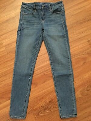 Sz 4 American Eagle Outfitters NEX LEVEL STRETCH jeans EUC