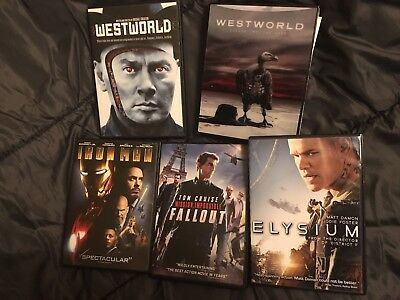 Westworld Season 2 Blu-ray Mission Impossible Fallout DVD