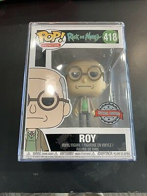 Roy rick and morty funko pop