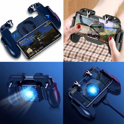 Mobile Phone Game Controller Gamepad Joystick Fire Trigger For PUBG Fortnite US